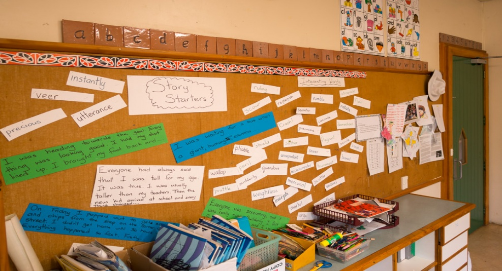 Tamariki School: Creating a story - where to start.